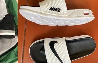 Hải quan tạm giữ hơn 1.000 đôi giầy, dép có dấu hiệu giả mạo nhãn hiệu NIKE