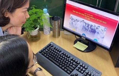"""Hải quan Quảng Ninh thi tìm hiểu """"Bác Hồ với tỉnh Quảng Ninh và huyện đảo Cô Tô"""""""