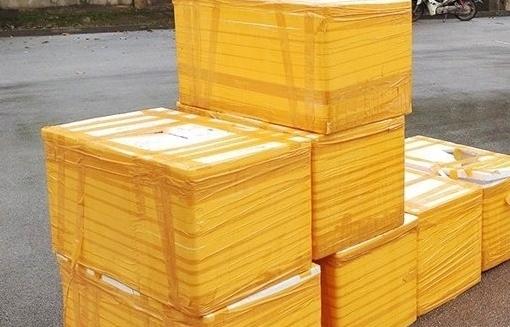 Quảng Ninh: Phát hiện nửa tấn cá tầm nhập lậu