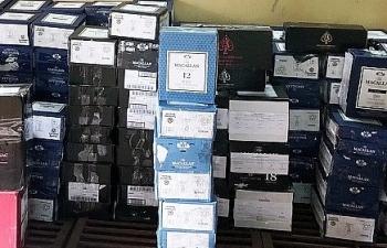 Vận chuyển trái phéplô rượu ngoại trị giá 2 tỷ đồng