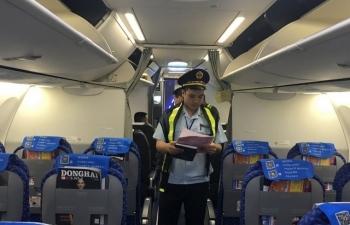 Công chức Hải quan thức đêm đón chuyến bay quốc tế đầu tiên cập Cảng Hàng không Vân Đồn