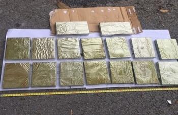 Hải quan Quảng Ninh phối hợp bắt 16 bánh heroin