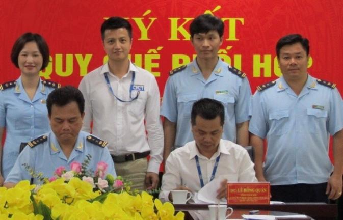 Hải quan Hòn Gai phối hợp giám sát hàng hóa xuất nhập khẩu