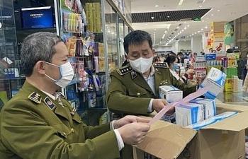 Hà Nội: Thu giữ hơn 1,7 triệu chiếc khẩu trang y tế