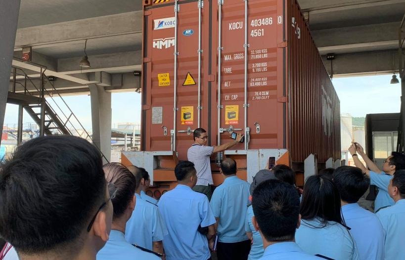 Hải quan Quảng Ninh tập huấn triển khai Hệ thống seal định vị GPS