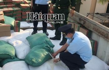 Hải quan Lao Bảo khởi tố vụ vận chuyển trái phép hơn 57 tấn gạo