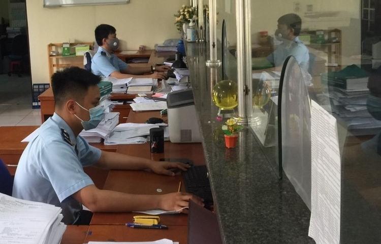 Hải quan Bắc Ninh hoạt động thông suốt trong ngày đầu giãn cách xã hội