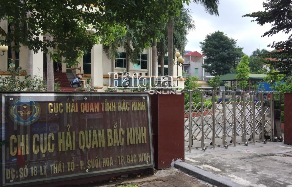 Số tờ khai qua Chi cục Hải quan Bắc Ninh giảm do Covid-19