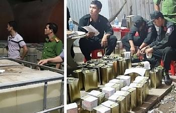 Lãnh đạo Bộ Công an chỉ đạo đấu tranh vụ buôn bán xăng giả trên quy mô lớn