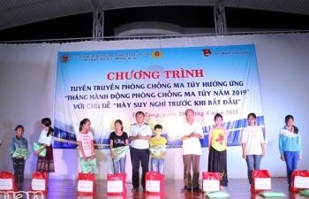 Hải quan Quảng Trị phối hợp tuyên truyền về phòng, chống ma túy