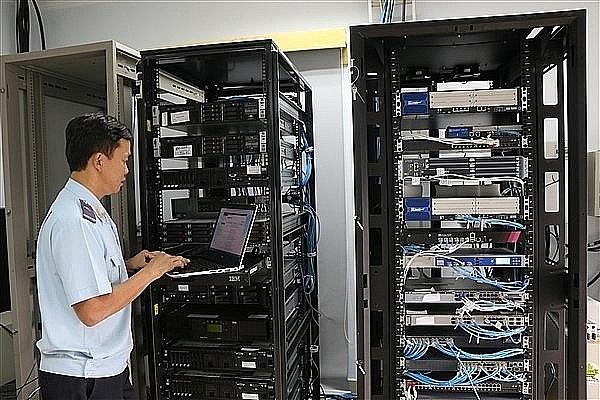 Hải quan Quảng Trị ứng dụng hiệu quả công nghệ thông tin trong hoạt động nghiệp vụ.