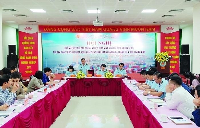 """Hải quan Quảng Ninh: Doanh nghiệp """"chấm điểm"""" để nâng cao chất lượng phục vụ"""