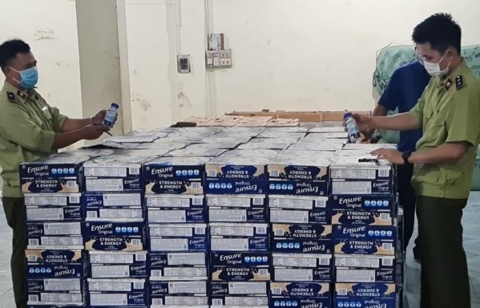 Chặn đứng xe tải chở gần 10.000 chai bia, sữa Ensure không giấy tờ