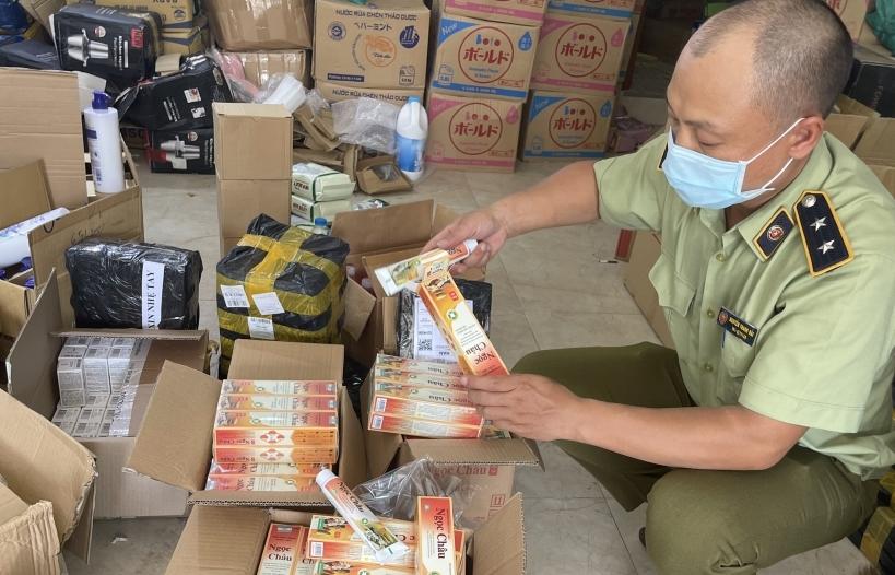Phát hiện hơn 1.600 sản phẩm kem đánh răng dược liệu giả nhãn hiệu Ngọc Châu