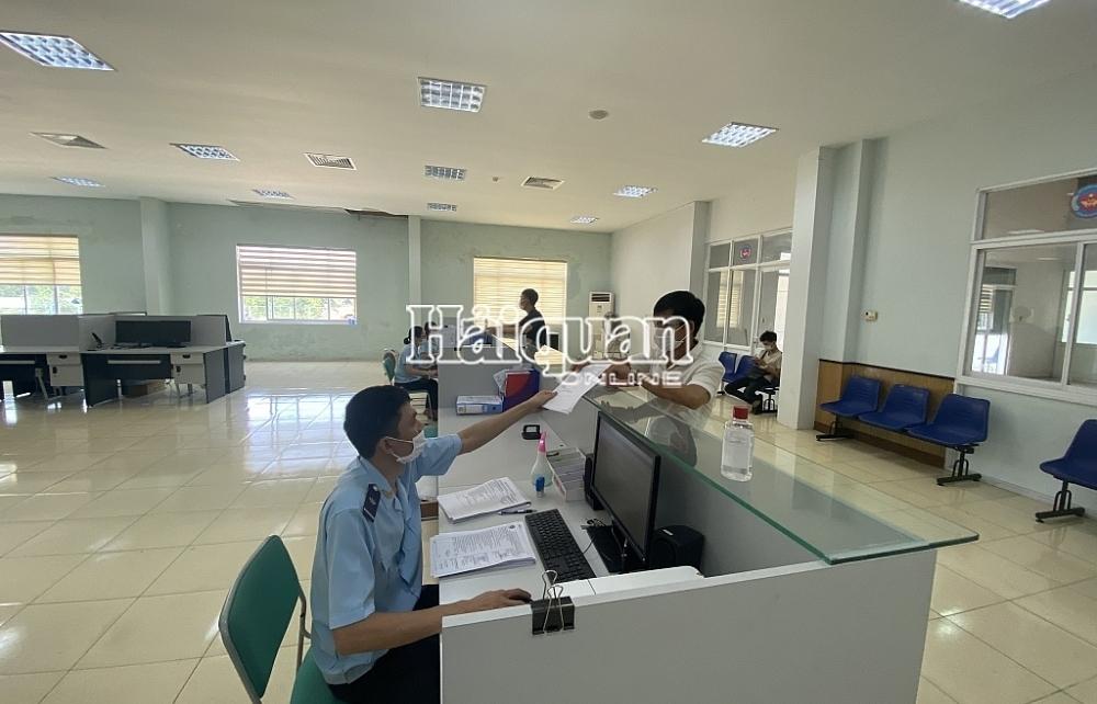 Máy móc thiết bị chiếm hơn 72% số thu ngân sách của Hải quan Quảng Trị