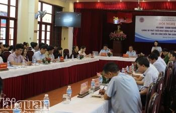 Gần 33.000 tờ khai xuất nhập khẩu qua địa bàn Quảng Ninh