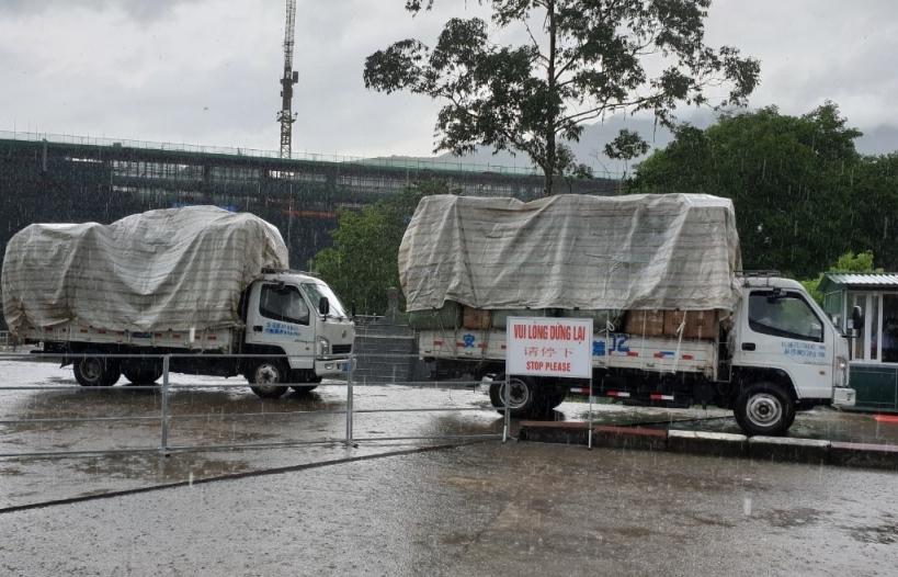 Cửa khẩu Bắc Phong Sinh chính thức hoạt động trở lại