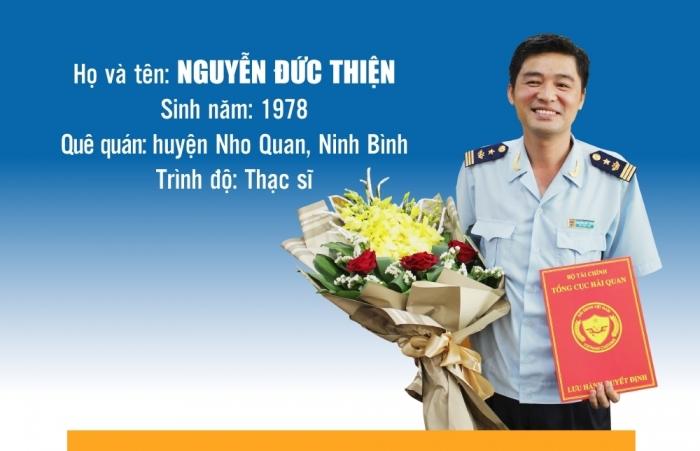 Inforgraphics: Quá trình công tác của tân Phó Cục trưởng Cục Hải quan Tây Ninh