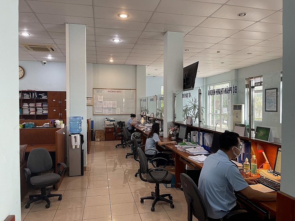 Hoạt động nghiệp vụ tại Chi cục Hải quan quản lý các khu công nghiệp Bắc Giang thời điểm cuối tháng 6.