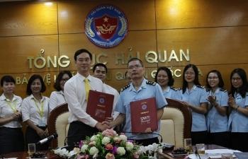 Tổng cục Hải quan ký thỏa thuận hợp tác với Bưu điện TP Hà Nội
