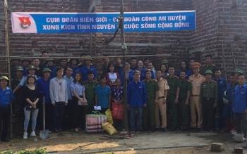 Thanh niên Hải quan Quảng Ninh tổ chức các hoạt động tình nguyện