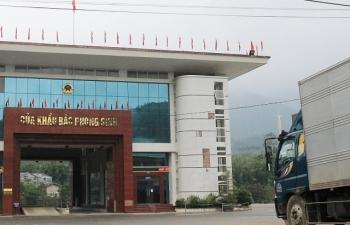 Đề xuất tăng lượng xe vận chuyển hàng nhập khẩu qua cửa khẩu Bắc Phong Sinh