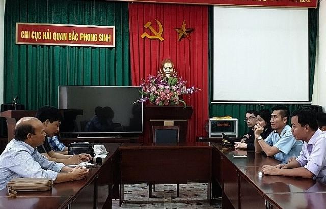 Doanh nghiệp đánh giá cao cải cách ở Hải quan Bắc Phong Sinh