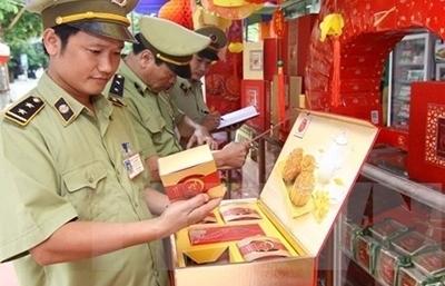 Công khai cơ sở sản xuất bánh Trung thu vi phạm