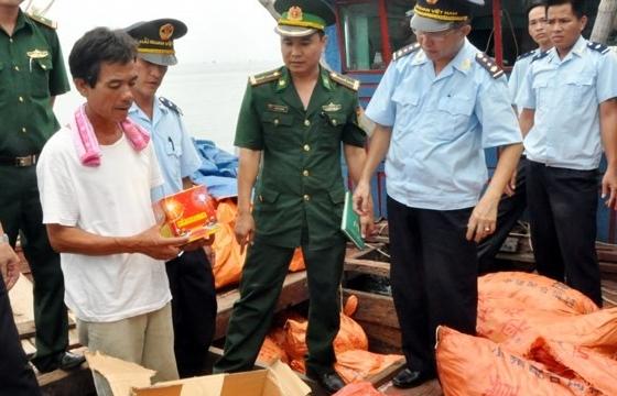 Quảng Ninh: Tăng cường chống buôn lậu, vận chuyển trái phép hàng hóa trên biển