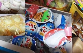 Hà Nội: Cận tết Trung thu, lại bắt 2 xe tải chở bánh kẹo không nguồn gốc