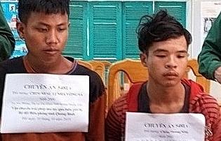 Quảng Bình: Bắt 2 đối tượng vận chuyển 100.000 viên ma túy