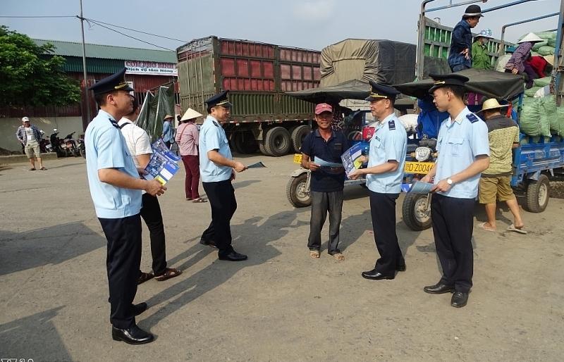 Hải quan Hoành Mô bắt giữ và xử lý 39 vụ với 29 đối tượng buôn lậu