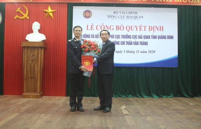 Bổ nhiệm Phó Cục trưởng Cục Hải quan Quảng Bình