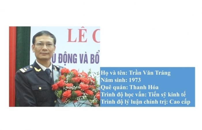 Inforgraphics: Tân Phó Cục trưởng Cục Hải quan Quảng Bình