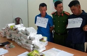 Hải quan Điện Biên phối hợp bắt 35 vụ với 48 đối tượng vận chuyển ma túy