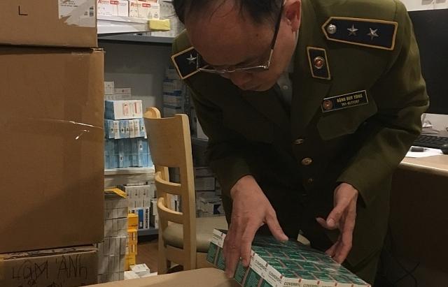 Hà Nội: Thugiữ lô tân dược nhập lậu trị giá hơn 1,7 tỷ đồng
