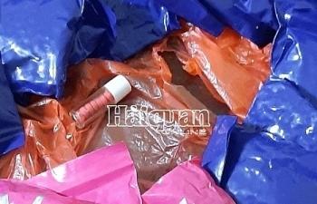 Phối hợp bắt 2 bánh heroin cùng 3.000 viên ma túy tổng hợp