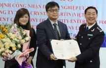 Trao quyết định công nhận doanh nghiệp ưu tiên cho Công ty Crystal Martin Việt Nam