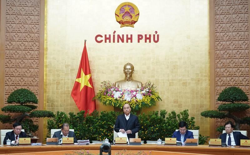 thu tuong chu tri hop chinh phu thuong ky thang 122019
