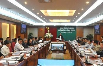 Toàn văn thông báo Kỳ họp thứ 42 của Ủy ban Kiểm tra Trung ương