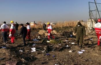 """Iran thừa nhận """"vô tình"""" bắn rơi máy bay Ukraine"""