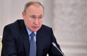 Tổng thống Nga Putin đọc Thông điệp liên bang lần thứ 16
