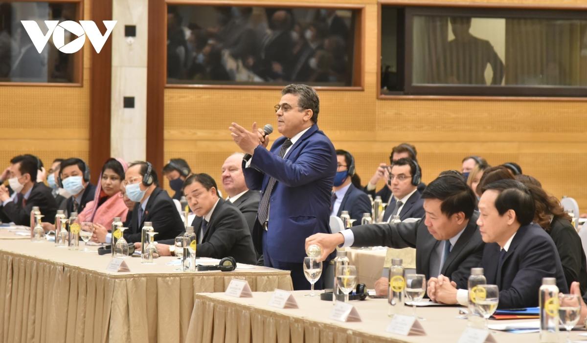 Thông tin về Đại hội Đảng XIII tới Đoàn Ngoại giao và các tổ chức quốc tế tại Việt Nam