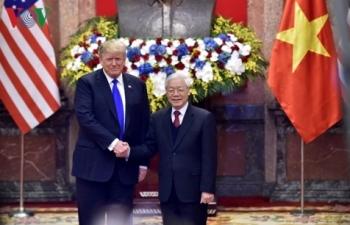 Tổng Bí thư, Chủ tịch nước hội đàm với Tổng thống Donald Trump