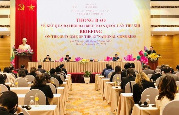 Thông báo kết quả Đại hội XIII của Đảng tới các đoàn ngoại giao và tổ chức quốc tế