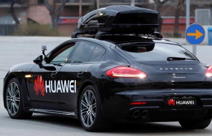 Huawei nghiên cứu phát triển xe tự lái