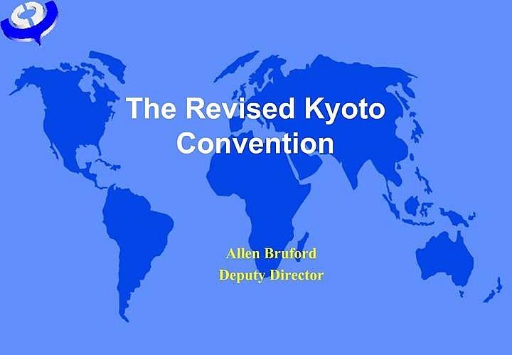 Công ước Kyoto sửa đổi có thêm 2 thành viên mới