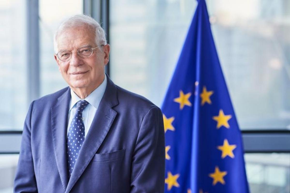 Đại diện cấp cao phụ trách chính sách an ninh và đối ngoại Liên minh châu Âu Joseph Borrells. Ảnh: avrupa