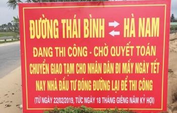 """""""Kẹt cứng"""" Dự án BOT cầu Thái Hà"""