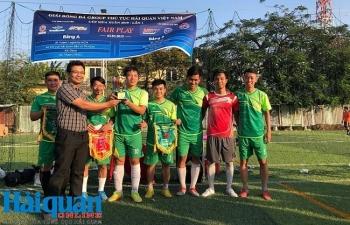 Group thủ tục hải quan Việt Nam: Giao hữu thể thao